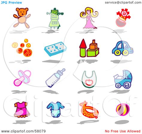 popular items for baby collage item clipart clipart panda free clipart images