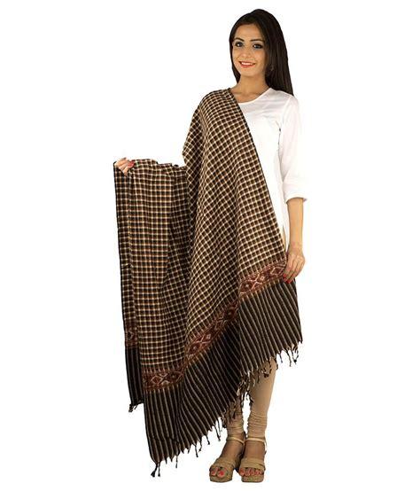 Rama Brown rama brown woolen shawl buy at low price in india