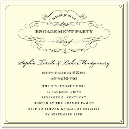 bridal shower invitations engagement party invitations