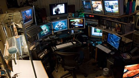 gaming setup designer the craziest home desktop computer rigs on the planet