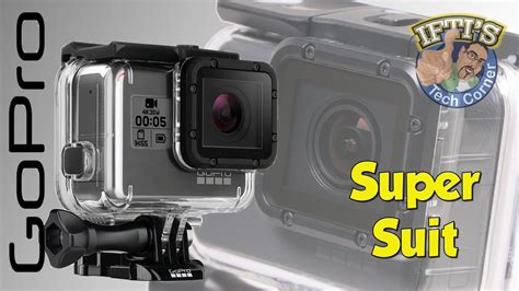 Supersuit Housing Gopro 5 Black Original gopro 5 black suit dive housing review