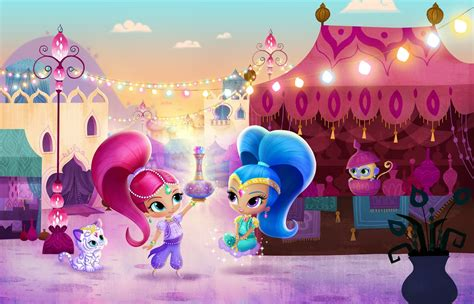 shimmer and shine l nickalive nick jr uk to premiere quot shimmer and shine quot on