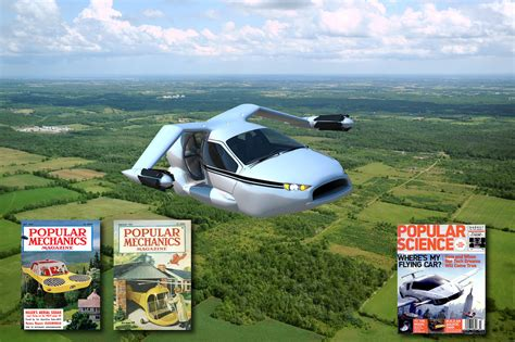 Toyota Flying Car The Great Flying Car With Terrafugia Toyota And