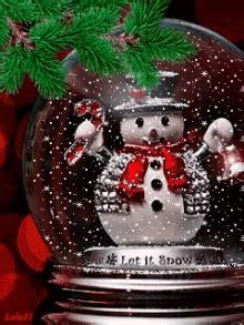 animated christmas snow globe gifs tenor