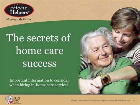 Learning The Secrets Of Services by Secrets Of Home Care In Idaho