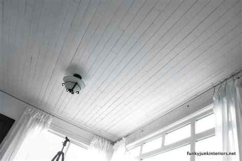 Tongue And Groove Pine Ceiling Planks by Home Photo Studio Reveal Funky Junk Interiorsfunky