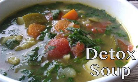 Detox Vegetables Soup by Healthy Detox Soup Recipe Dishmaps