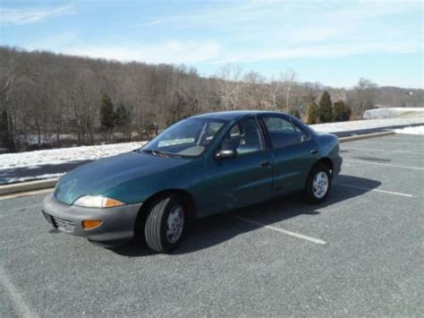 1997 chevrolet cavalier sedan find used 1997 chevrolet cavalier sedan government owned