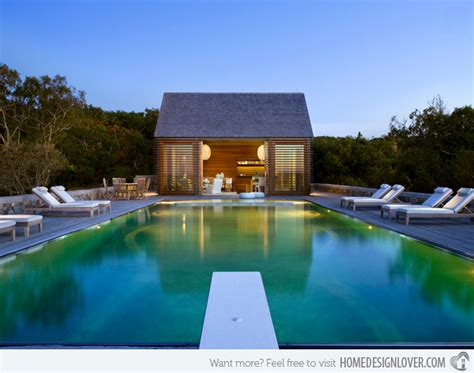 simple pool house 15 lovely swimming pool house designs