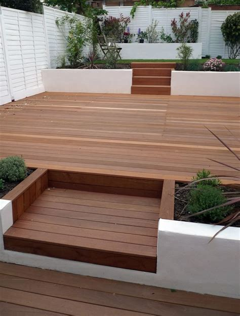 Garden Ideas With Decking It S Time To Sort Out The Back Garden Different Decking Idea And Inspiration Bump To Baby