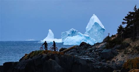 foot tall giant iceberg looms    canadian