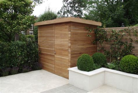 contemporary shed wooden garden rooms and sheds essex uk the garden