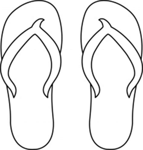 Flip Flop Coloring Page Blank Coloring Pages Flip Flop Coloring Page