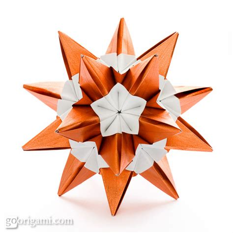 Origami On The Go - origami spikes and stellated polyhedra gallery go origami