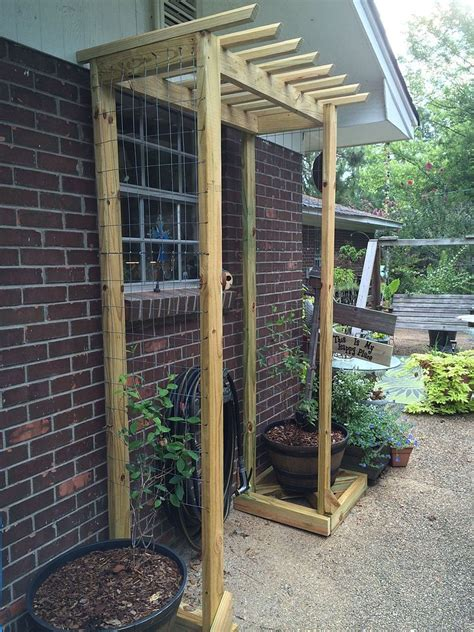 Ideas For Trellis In Garden Hometalk Inexpensive Garden Trellises