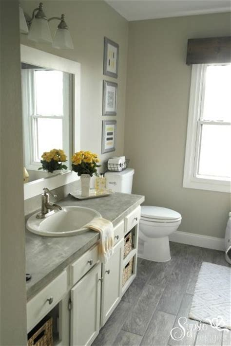 Updated Small Bathroom Ideas Beautiful Builder Grade Bathroom Makeover On A Budget