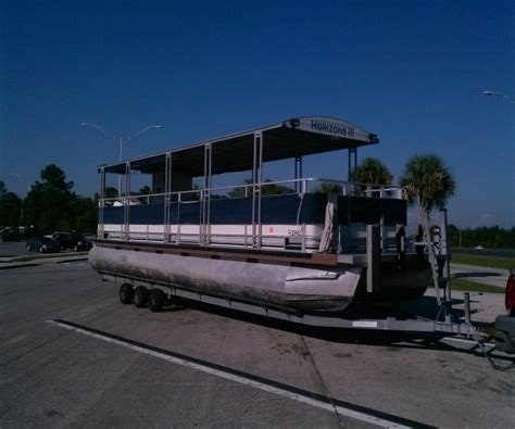used pontoon boat trailers for sale florida pontoon boats for sale in florida used pontoon boats for