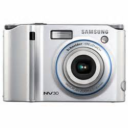 samsung nv30 8.1 megapixels cyber shot® digital camera 3x