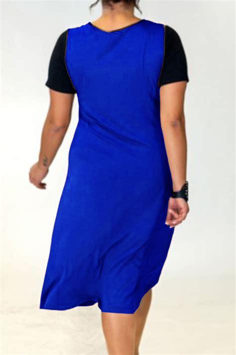 Jual Murah Korset Ikat Size S Xxxxxl Waist baju big size korea baju big size a0828 blue stok habis
