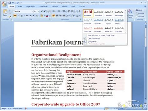 free microsoft office word 2007 microsoft office