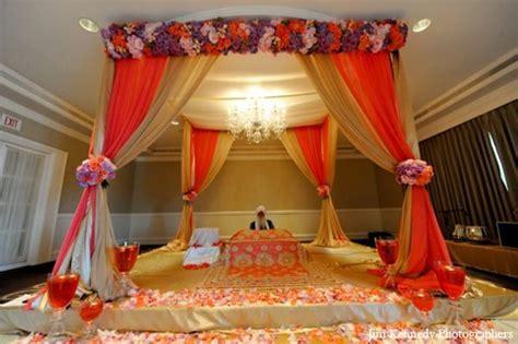 indian wedding ceremony mandap decor floral http
