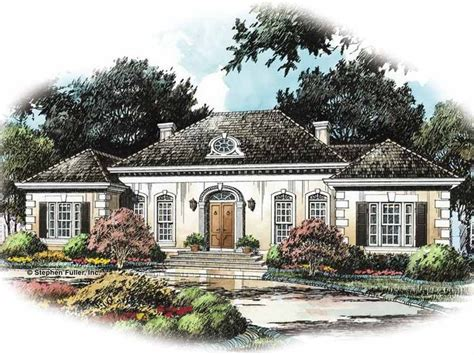 modern french country house plans modern french country house plans