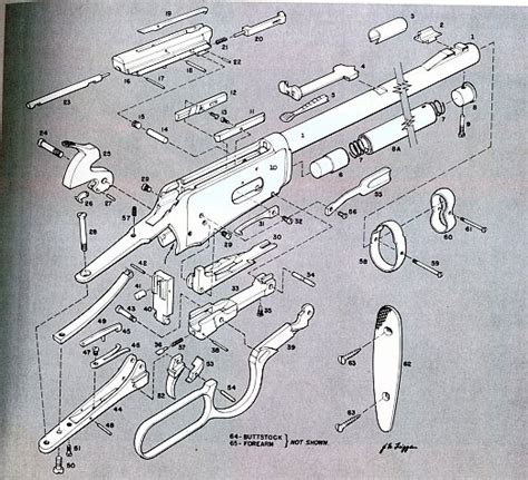 winchester 1894 parts diagram winchester model 94 parts diagram projects to try