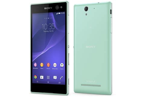 Sony Xperia xperia c3 features selfie android sony mobile global