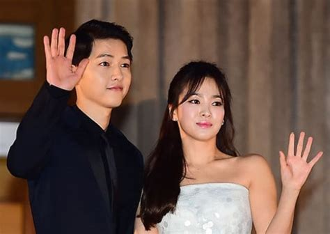 yoo ah in song song wedding song joong ki and song hye kyo confirm their wedding venue