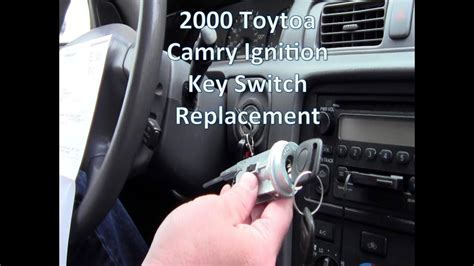 replace  toyota camry key ignition switchignition