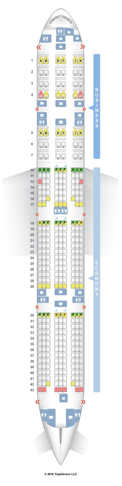plan si鑒es boeing 777 300er seatguru seat map qatar airways boeing 777 300er 77w v3