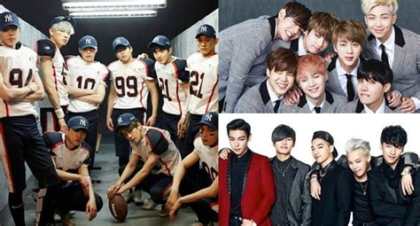 exo big wallpaper exo bts and bigbang gain impressive number of new
