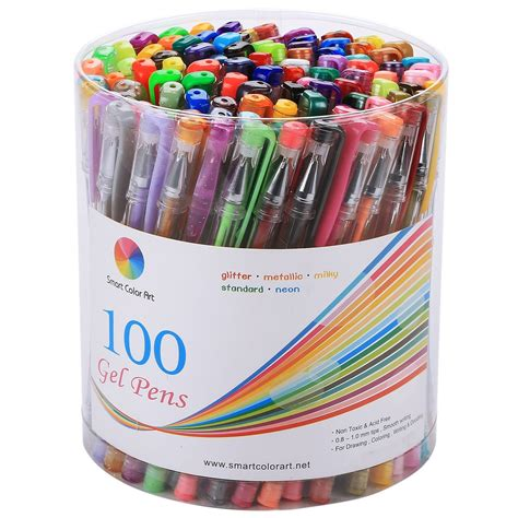 gel coloring pens gel pens and coloring book deal on book and pens