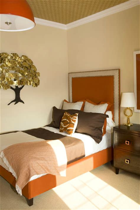 brown and orange bedroom ideas brown and orange bedroom contemporary bedroom amanda