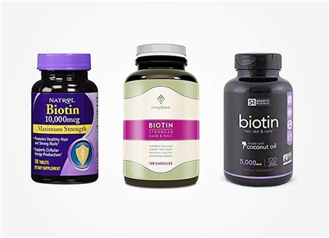 5 supplement reviews 5 best biotin supplement products for hair growth