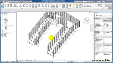 revit tutorial stairs revit tutorials modifying stair by component youtube