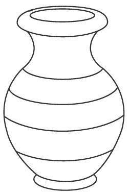 Vase Coloring Page by Vase Coloring Pages To And Print For Free