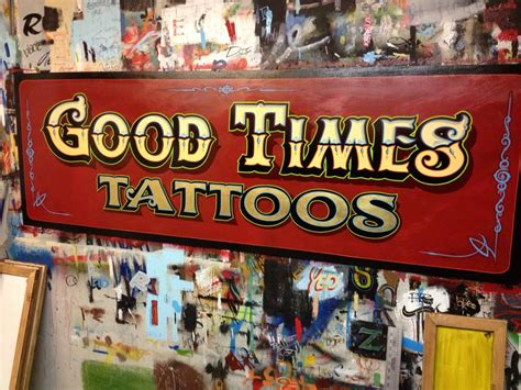 tattoo hand painted signs dobell signs goodtimes tattoo saskatoon canada