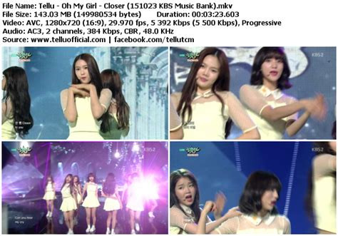 download mp3 closer oh my girl download perf oh my girl closer kbs music bank 151023
