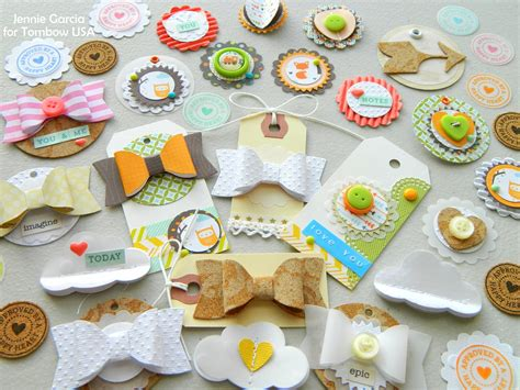 Handmade Embellishments For Scrapbooking - dyi embellishments