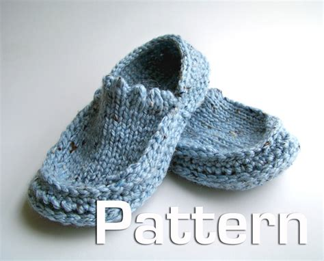 easy knit slipper pattern patterns knit slippers 171 free patterns