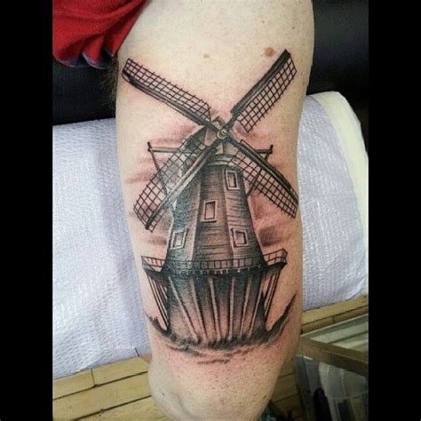 dutch touch tattoo windmill tattoos windmill
