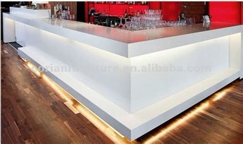Corian 3d Panels by Corian Made Led Lighted Bar Counter Rcd 030 China