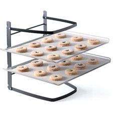 Can You Put A Cooling Rack In The Oven by Stacked Cooling Rack Cooling Racks Space Saver And Spaces