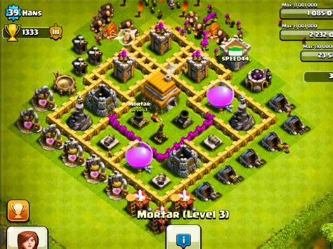 clash of clans town hall 6 setups th6 setups town hall level 6 strategy guide clash of clans tips