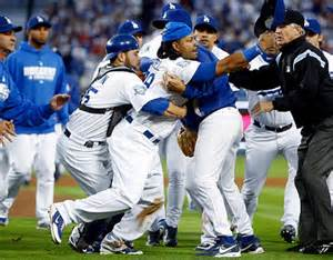 dodgers bench dodgers fight and get off the mat ny daily news