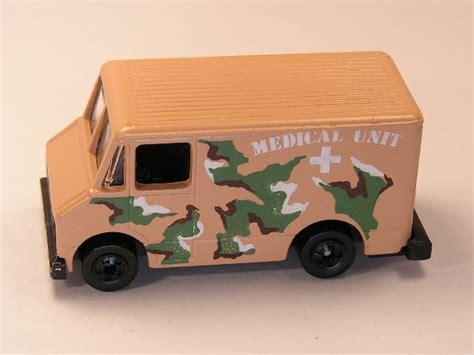 Hotwheels Combat Medic Swat Blue wheels delivery truck