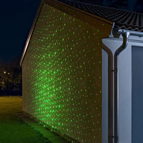 garten laser garten laser aussenstrahler mit beweglichen lichtpunkten