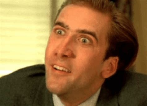 Nicolas Cage Face Meme - you don t say gif you don t say know your meme
