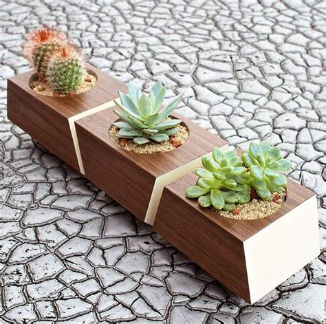 indoor wood planter 10 modern planters that welcome the spring in style